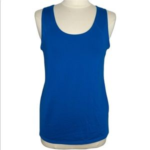 Spanx Ruched Back Sleeveless Seamless Tank Top 10